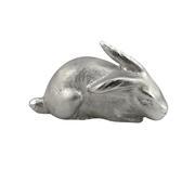 Sterling Silver Sitting Rabbit Ornament
