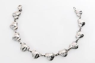 Silver Koala Head Bacelet